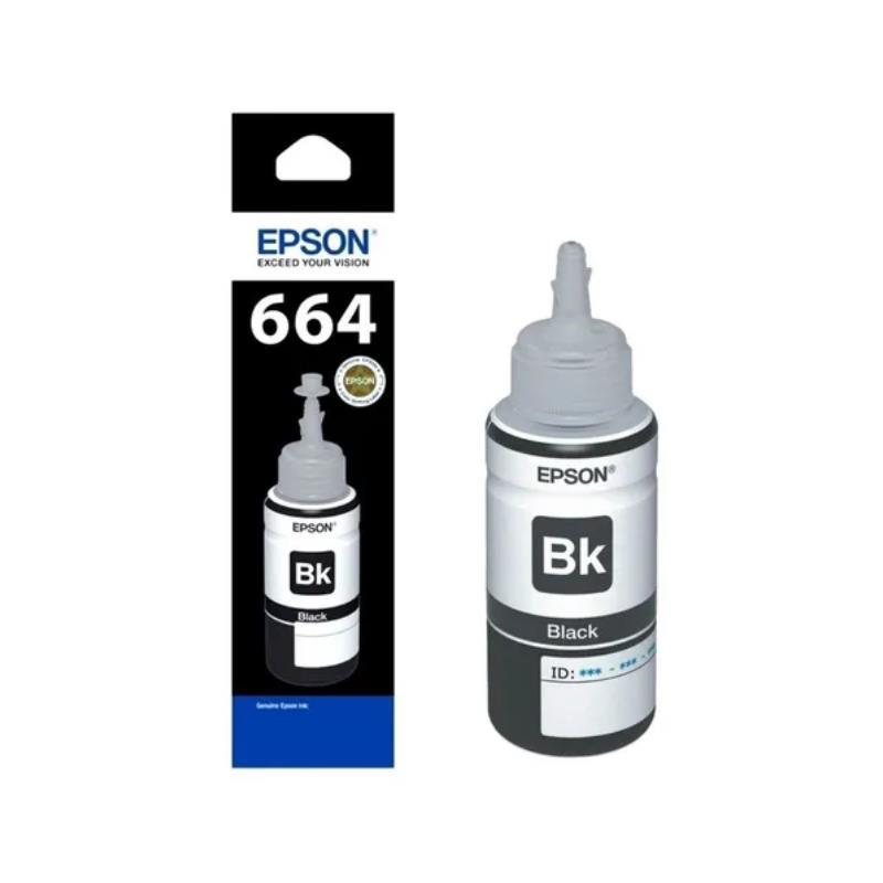 Epson Original T664120-Al Negro