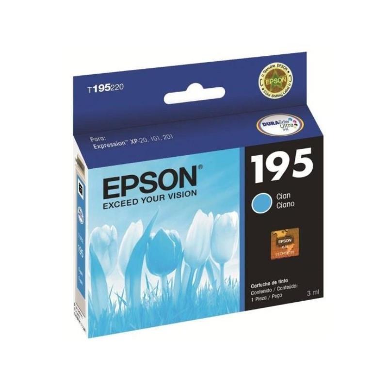 Epson Original T195220 Al Cyan