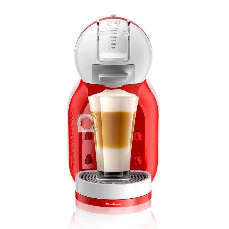 Cafetera Moulinex Mini Me Capsulas NDG 0.8Lt. 1340 Watts - Roja