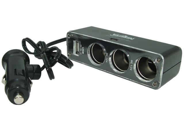 Cargador 12/24V a Usb 1 Amp