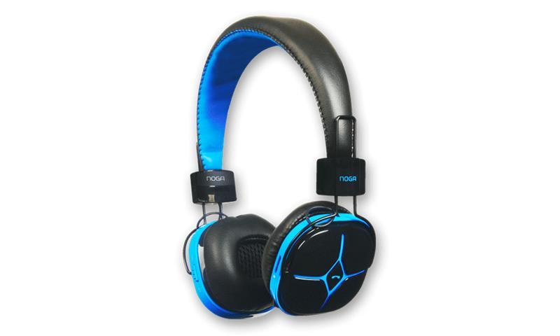 Auricular Manos Libres Noganet Radio Fm/Lector Micro Sd Bluetooth (Pn:Ng-A108L)