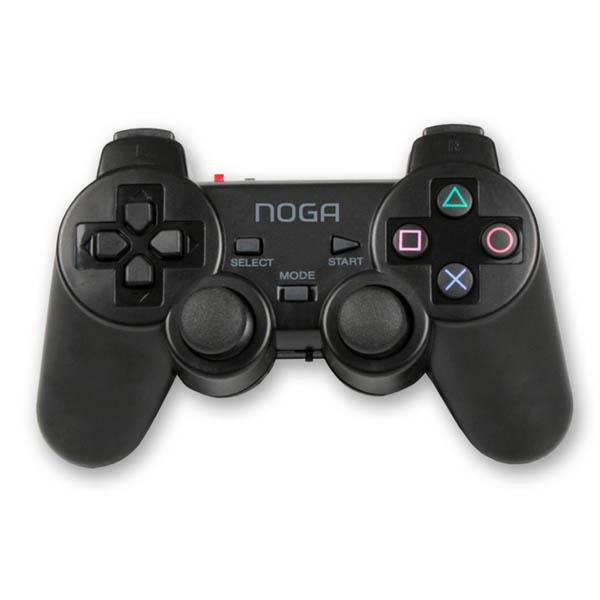 Gamepad Noganet Ng-3093 Wireless Negro Ps2/Ps3
