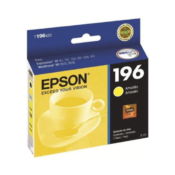 Epson Original T196420-Al Amarillo