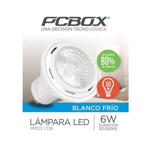 Lampara Led Pcbox Mr123COB Blanco Frio