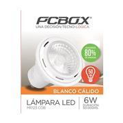 Lampara Led Pc box Mr123 6W Gu10 Blanco