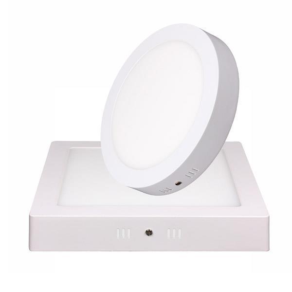 Panel Led Circular Pc Box Plar 12W Blanco Calido