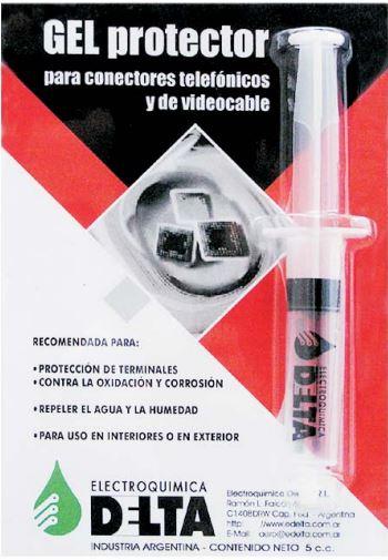 Gel Protector Para Conectores Telefonicos Y De Videocable