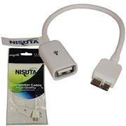 Cable Micro Usb 3.0 Con Funcion Otg Nis