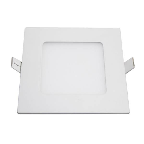 Panel Cuadrado Luz Led Pcbox Pb-Pl 5W 1111 Blanco Frio