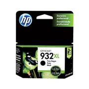 Cartucho original de tinta negra HP 932XL