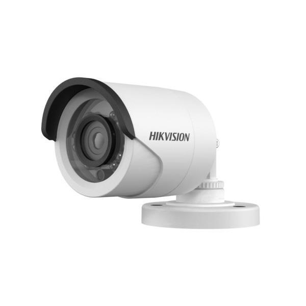 Camara Hikvision Analogica Bullet 1080p Lente 3.6mm Ir 20mtrs, Carcasa Plastica (Ds-2ce16d0t-irpf)