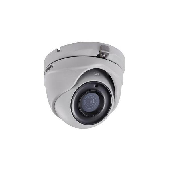 Camara Hikvision Analogica Turret 3mp Lente 2.8mm Exir 20mtrs, Carcaza Metalica (Ds-2ce56f1t-itm)