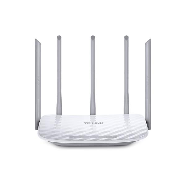 ROUTER WIRELESS TP-LINK ARCHER C60-AC1350 DUAL BAND 5 ANTENAS
