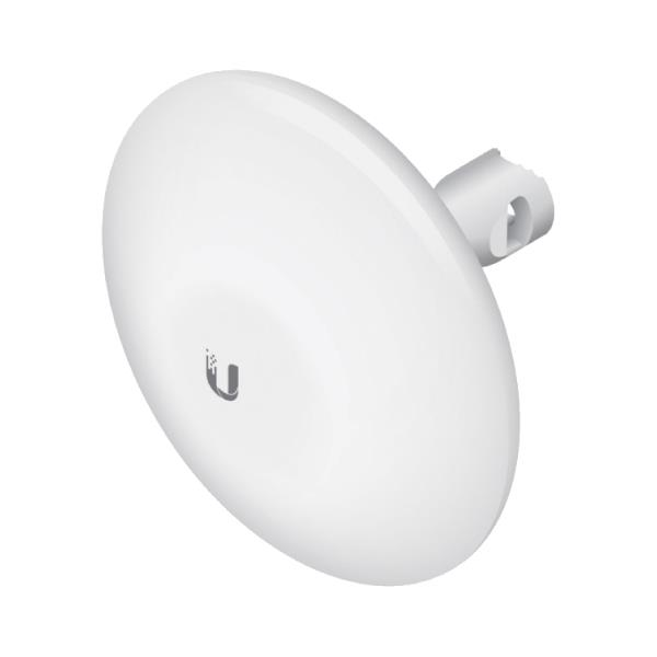 Red Wireless Exterior Parabola Ubiquiti 5.8Ghz 1 Eth 16Dbi Nanobeam 400
