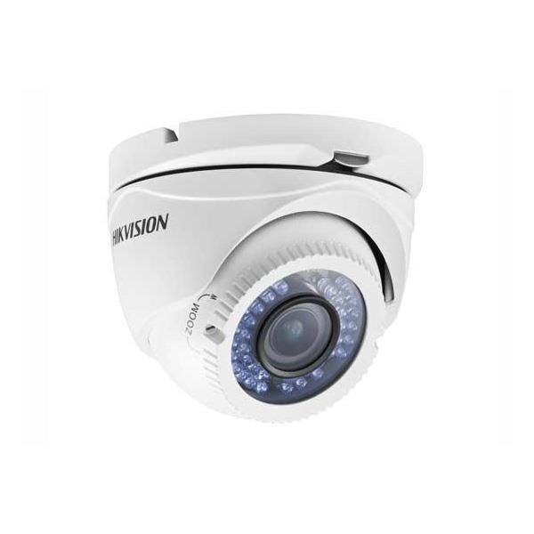 Camara Hikvision Analogica Turret 720p Lente Vf 28 a 12mm Carcaza Metalica Ds-2ce56c0t-vfir3f.