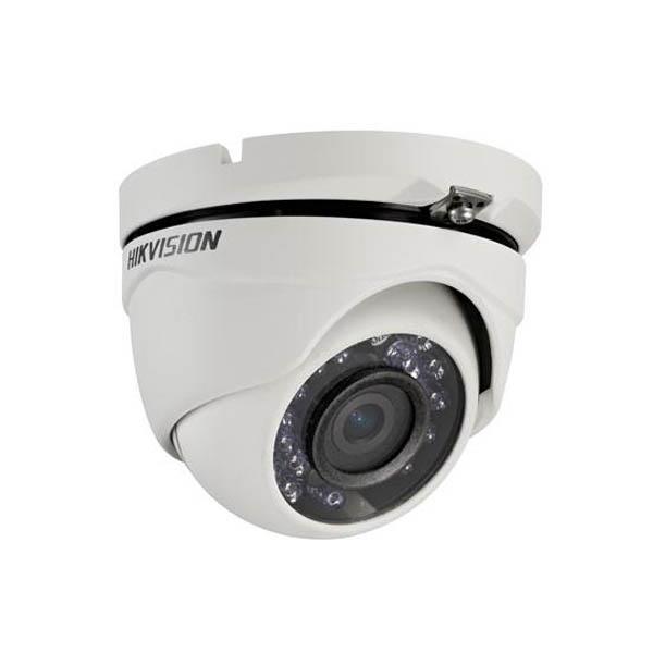 Camara Hikvision Analogica Turret 1080p Lente 2.8mm Ir 20mtrs, Carcaza Plastica (Ds-2ce56d0t-ipf)