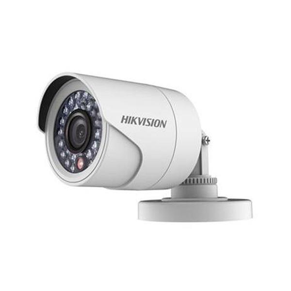 Camara Hikvision Analogica Bullet 720p Lente 28mm Ir 20mtrs Carcaza Plastica.