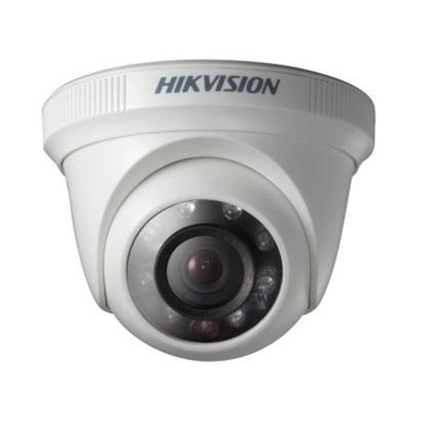 Camara Hikvision Analogica Turret 720p Lente 2.8mm Ir 20mtrs, Carcaza Plastica (Ds-2ce56c0t-ipf)