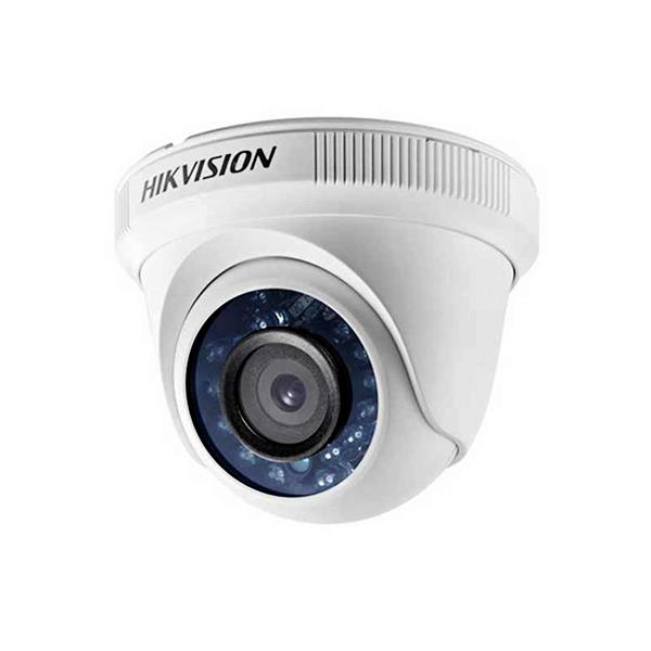 Camara Hikvision Analogica Turret 1080p Lente 2.8mm Ir 20mtrs, Carcaza Metalica (Ds-2ce56d0t-if)