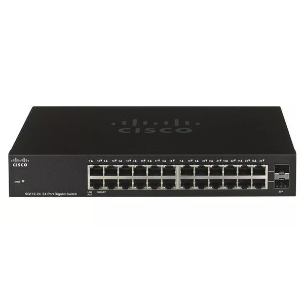 Switch 24 Bocas Rack No Administrable 10/100 Cisco (Pn:Sf110-24-Ar)