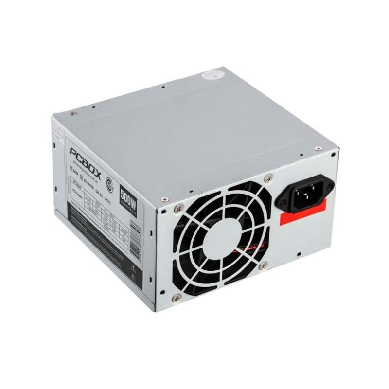 Fuente Atx 500 Watt Pcbox Sata
