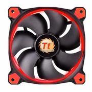 Cooler P/ Gabinete Thermaltake 120 Mm Rojo