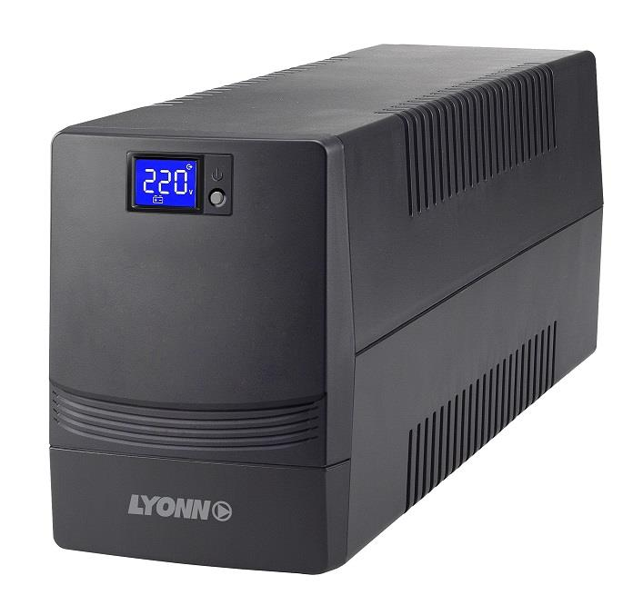 Ups Lyonn Ctb-1200 Con Cable, Soft Y Display Touch (Ctb-1200)