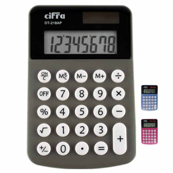 Calculadora Cifra Personal Dt-218