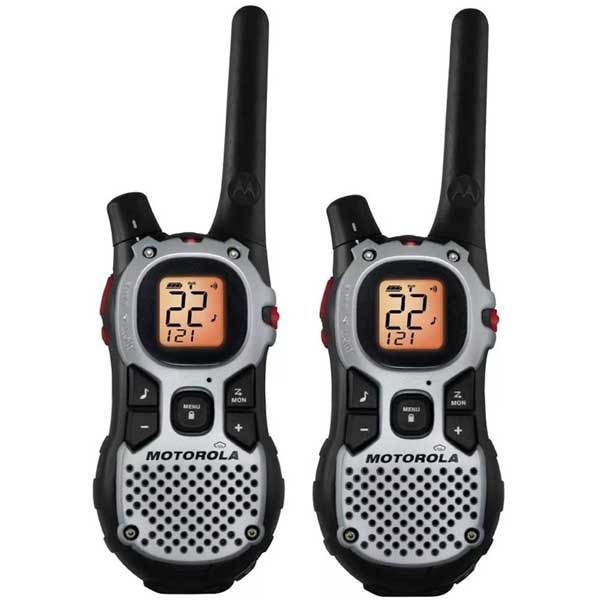 Handy Motorola Talkabout Mj270R X Dos (43 Km, 22 Canales) C/ Base Cargador