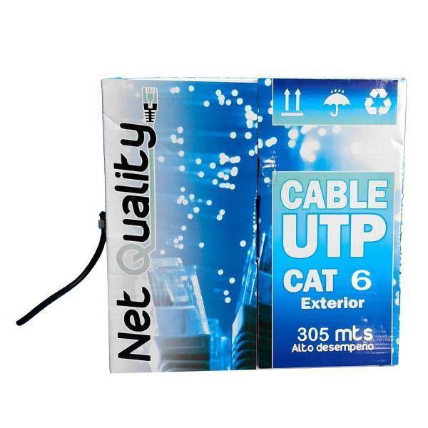 Cable UTP CAT6 exterior por metro NET QUALITY