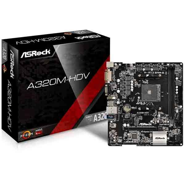 Motherboard Amd (Am4) Asrock A320M-HDV