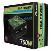 Fuente Atx 750 Watt Noganet rgb