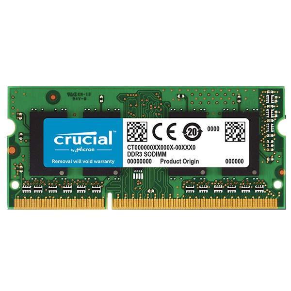Memoria RAM Crucial Ddr3 8Gb 1600Mhz Sodimm
