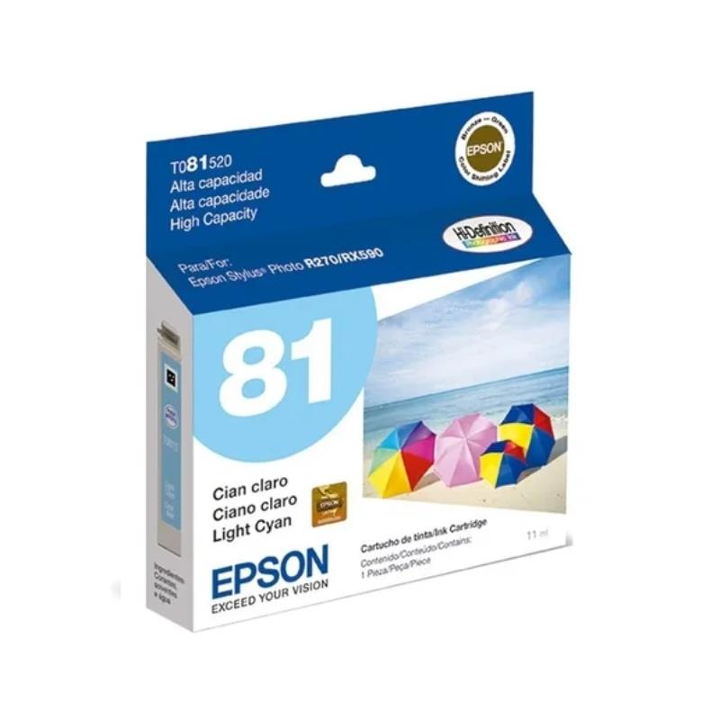 Epson Original T081520-Al Cyan High Capacity