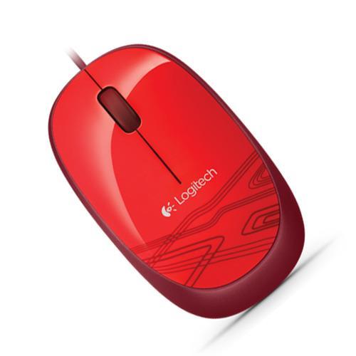 Mouse Logitech M105 Usb Rojo (Pn:910-002959)