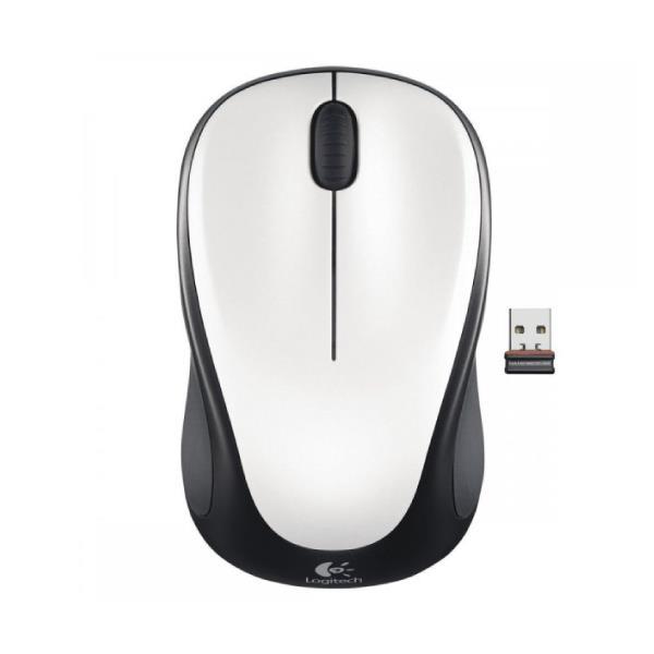 Mouse Logitech Wireless M317 Usb Cristal White