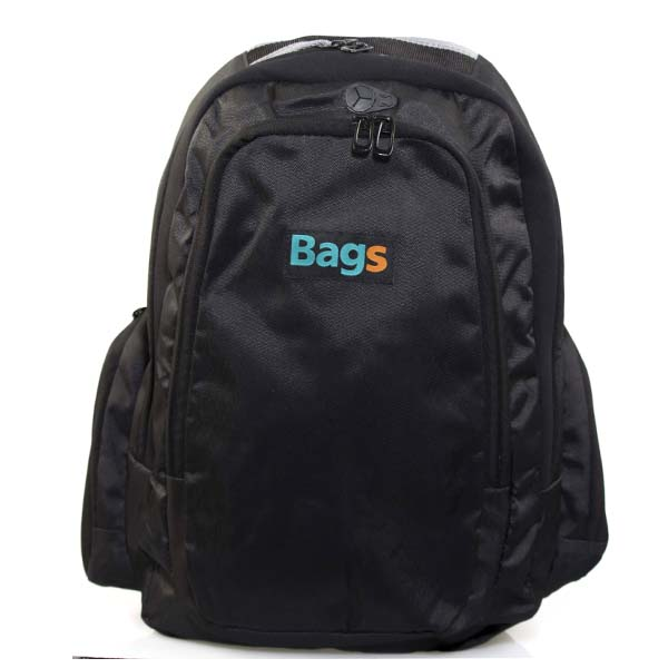 Mochila Urban Bags Porta Notebook Cordura Y Neoprene Negra