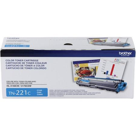 Toner Original Brother Tn-221C