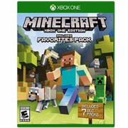 Juego Xbox One Minecraft Favourites Pac