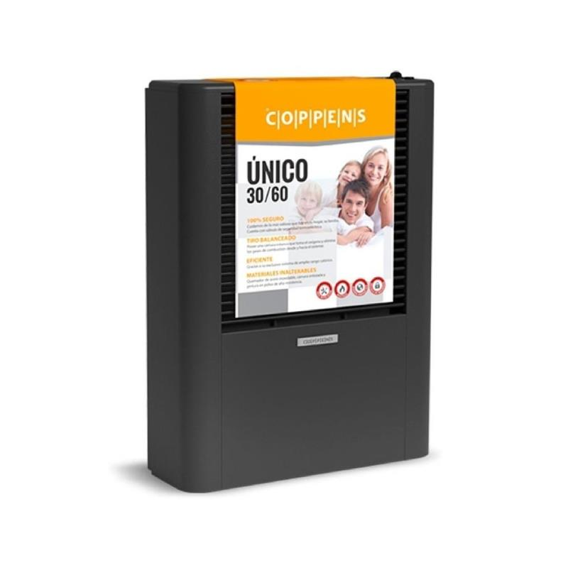 Calefactor Coppens Unico 30-60 - de 3000 A 6000 KcalH.