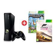 Combo 02 - Microsoft Xbox 360 + Forza Horizon 2 + Minecraft + Gamepad