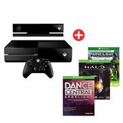 Combo 04 - Microsoft Xbox One + Kinetic + Halo Mcc + Dance + Minecraft + GAMEPAD