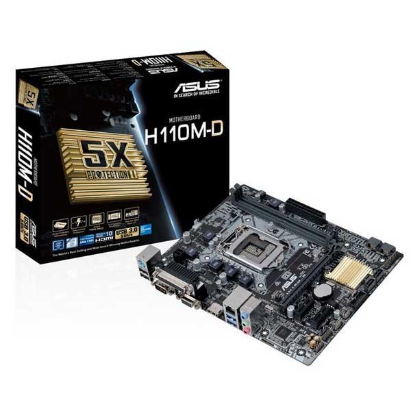 Motherboard Intel (1151) Asus H110M-D