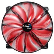 Fan Aerocool Silent Master 20cm Led Roj