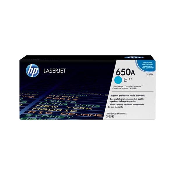 Toner HP Ce271A (650A) Cyan