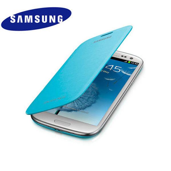 Celular Protector Tpu Cover Slim Blue Samsung Galaxy S3