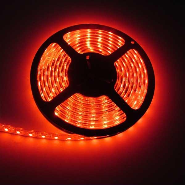 Tira de Led Pcbox Smd5050 Para Interior N1056 Rojo