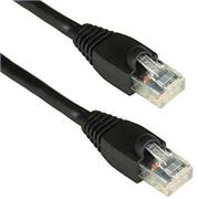 Patch-Cord 2.0M Con Capuchon Negro Cat5