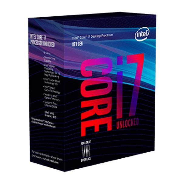 Microprocesador Intel (1151) Core I7-8700k Coffee Lake 4,60Ghz