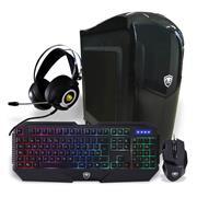 Pc Pcbox Gamer Ryzen 5 1600 - Gab Gamer Rx560 - Auricular Jarl Combo Heim